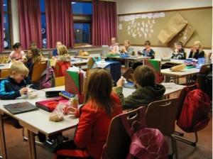 Islanda - Una classe primaria