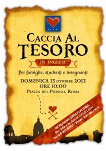 Treasure Hunt Poster - ROMA