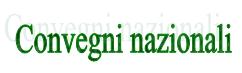 scritta convegni nazionali